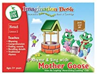 Imagination Desk: Rhyme and Sing with Mother Goose Interactive Color-And-Learn Activity Book and Cartridge [並行輸入品]