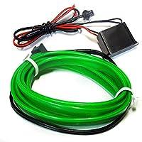 ムーブ ムーヴ LA100 LEDテープライト LEDテープ ELワイヤー グリーン 1m ネオン 隙間に挟める モール