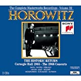 Horowitz: The Historic Return; Carnegie Hall 1965; The 1966 Concerts