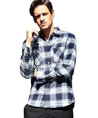(ビューティ&ユース ユナイテッドアローズ) BEAUTY&YOUTH UNITED ARROWS 【WEB限定】by ∴ インディゴ チェックシャツ 121169968049130 その他1(91) S