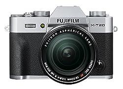 FUJIFILM ミラーレス一眼 X-T20 レンズキットシルバー X-T20LK-S