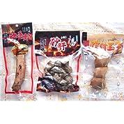 宮崎県産鶏 竹森 炭火焼セットA(スパイシースティック、砂肝、味付玉子)
