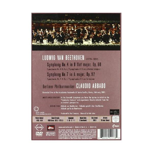 Symphonies 4 & 7 [DVD]の紹介画像2
