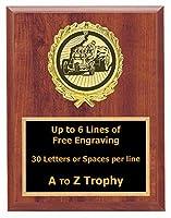 トラクターPull Plaque Awards 7x 9木製トラックPull Trophies Racing Trophy Free Engraving