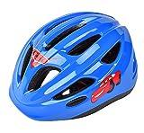 パラディニア(Paladineer)子供用ヘルメット 軽量 自転車用 バイク アウトドア ヘルメット こども用 幼児 ジュニア 通気 安全 キッズヘルメット 可愛い アジャスター調節 約51cm~55cm 6個通気穴