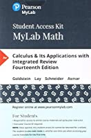 MyLab Math with Pearson eText - Standalone Access Card - for Calculus & Its Applications with Integrated Review (14th Edition)【洋書】 [並行輸入品]