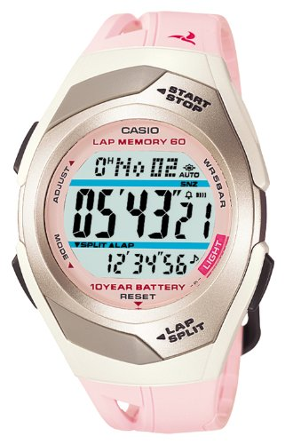 [カシオ]CASIO 腕時計 PHYS LAP MEMORY 60 国内メーカー1年保証つき  STR-300J-4JF