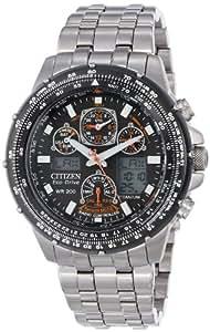 """腕時計 シチズン Citizen Men's JY0010-50E Eco-Drive """"Skyhawk A-T"""" Titanium Watch【並行輸入品】"""