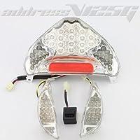 アドレスV125 ADDRESS V125 G LED内蔵型 クリアテールユニット ウインカーセット パーツ