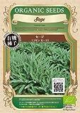 グリーンフィールド ハーブ有機種子 セージ  [小袋] A021