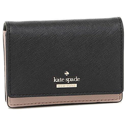 (ケイトスペード) kate spade ケイトスペード カードケース KATE SPADE PWRU5096 234 CAMERON STREET BECA カードケース・コインケース BLACK/TOASTED WHEAT [並行輸入品]