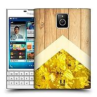 Head Case Designs クリサンセマム Nature Wood Prints ハードバックケース BlackBerry Passport