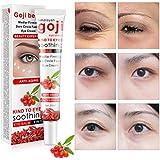 しわ防止アイクリーム、中国のクコの目の皮の更新のクリームの保湿の引き締めの希薄ダークサークルの目袋の希釈クリーム