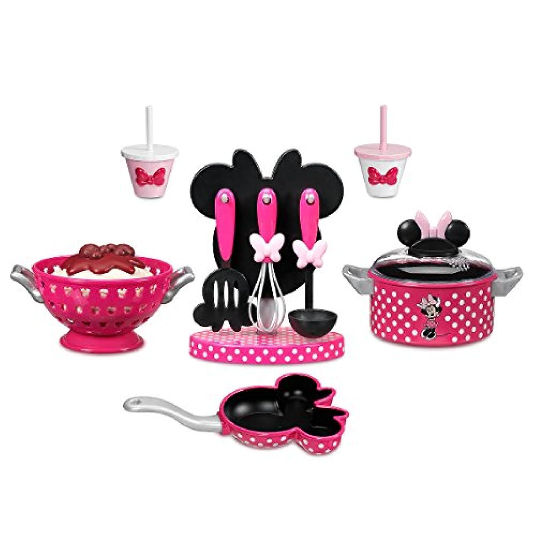 ディズニー ミニーマウス ミニー クッキング プレイセット キッチン フライパン 女の子 キッズ 子供 おもちゃ ままごと 公式 ピンク Minnie