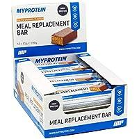 MYPROTEIN マイプロテイン 高タンパク質含有の食事代替 ダイエットバー 12本入り (ソルティッド キャラメル味) [並行輸入品]