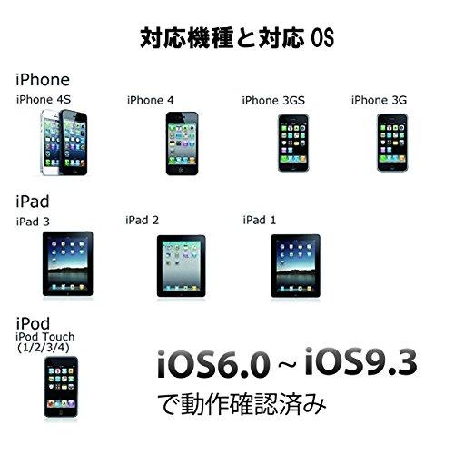 iOS6 〜 iOS9対応可 30ピンDockコネクタ - HDMI 変換アダプター 取扱説明書付き iPhone(4/4S) iPad (初代/2/第3世代)対応 視聴と同時に充電可能 国内検品実施製品【Apple Lovers Store】※偽物を販売する業者にご注意ください。