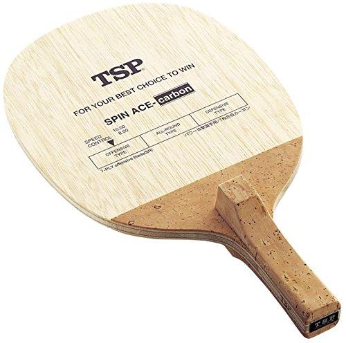 TSP 卓球 反転式ペンラケット スピンエースカーボン 021602