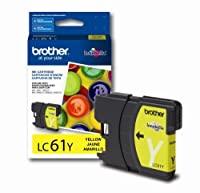 3 xインクカートリッジBrother lc61y -325小売packaging-yellow