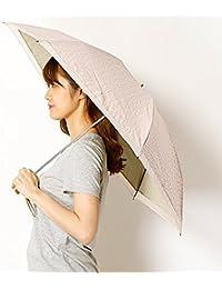 ミラ?ショーン(雑貨)(mila schon) 【折りたたみ日傘 3段折】【遮光&UV遮蔽率99%以上/遮熱】ロゴ&オーガンジー 晴雨兼用