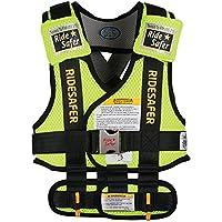 RideSafer Type 3 GEN3 Travel Vest - Yellow/Black - Large by RideSafer