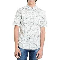 Calvin Klein Jeans Men's Reflection Geo-Print Shirt