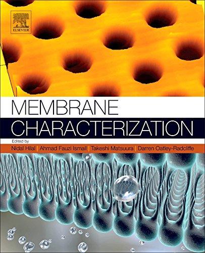 Download Membrane Characterization 0444637761