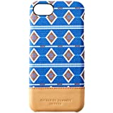 Simplism [KATHARINE HAMNETT LONDON] iPhone 7 ケース アフリカンブルー TRKH-NNWIP164-ABLNNM
