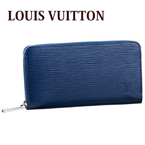 ルイヴィトン ヴィトン LOUIS VUITTON 財布 長財布 レディース ラウンドファスナー エピ ジッピー・ウォレット アンディゴブルー M60307