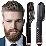 AUSELECT Beard Straightener 3IN1 Comb Straightener Brush, Quick Electric Hair Brush (SAA Certified)