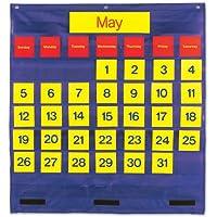 学習リソースLER2210バイリンガルMONTHLYカレンダーPOCKET C-HART