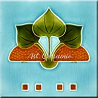 Art Nouveauセラミックタイル6インチreproducction # 426