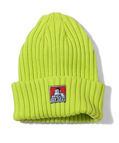(ベンデイビス)BEN DAVIS KNIT CAP(COTTON) (FREE, LIME)