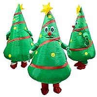コスプレ クリスマスツリー もみの木 エアコス おもしろコスプレ 面白グッズ ジョークグッズ ものまね 空気充填 インフレータブル コスチューム 大人用 男女兼用 cos1218