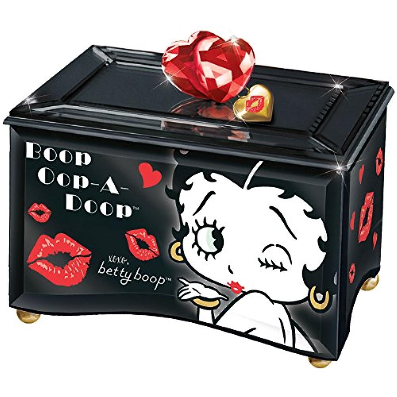 Betty Boopミラー音楽ガラスボックス – 手作り – Plays