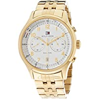 Tommy Hilfiger Men 1791390 Year-Round Analog Quartz Gold Watch