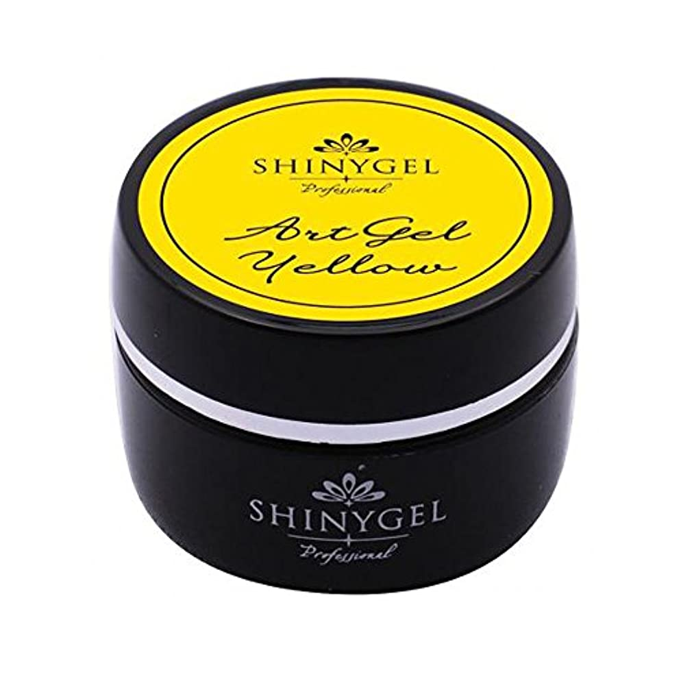 SHINY GEL カラージェル 4g アートジェルイエロー UV/LED対応タイオウ