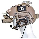 戦術的なノイズキャンセリングヘッドセット戦闘comtac IV (DE)