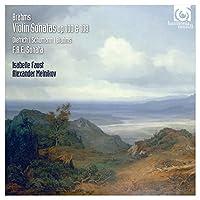 Brahms: Violin Sonatas Op.100 & 108 by Isabelle Faust (2015-10-10)