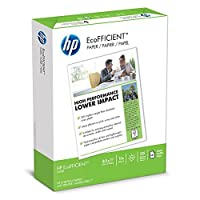 HP Paper EcoFFICIENT Copy Paper 16lb 8.5x11 Letter 92 Bright 625 Sheets / 1 Ream (216000) Made In The USA 【Creative Arts】 [並行輸入品]