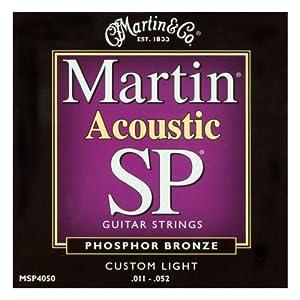 【国内正規品】 Martin マーチン アコースティックギター弦 MSP-4050 カスタムライト