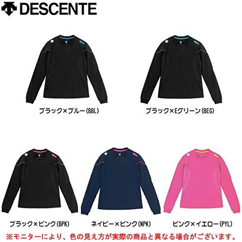 [해외]데 쌍트 (DESCENTE) 긴팔 보조 셔츠 DSS-5330W NPK 네이비   P 핑크 L/Descente (DESCENTE) Ladies long sleeve secondary shirt DSS-5330W NPK navy   P pink L