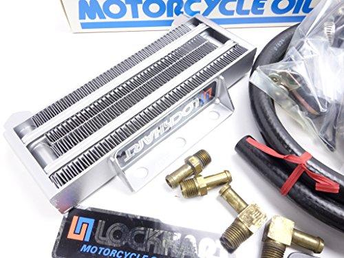 GS400?? GS750 GS1100 80-82 EZ/LZ/EX/LX/ET/LT LH製 (LOCKHART) オイルクーラー 「SU803」 A060G0853