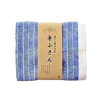 TRANPARAN まごころふきん 手ふきん 抗菌・防臭加工 引掛け紐付き 日本製 (ニシンの骨)