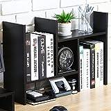 FITUEYES デスクオーガナイザー オフィス収納ラック 飾り棚 調整可能 木製 DT207201WB