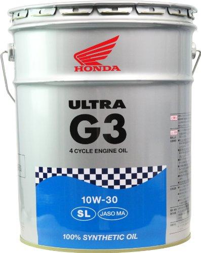 Honda(ホンダ) 2輪用エンジンオイル ウルトラ G3 ...