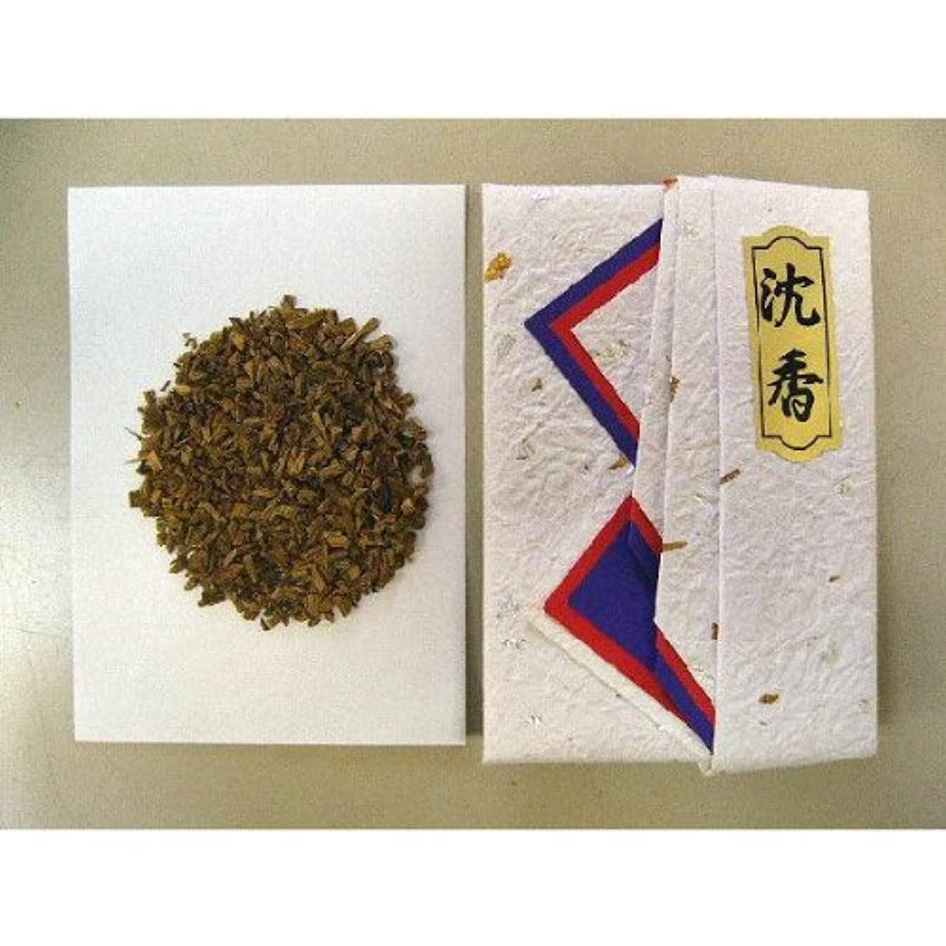 マラウイ人気あごひげインドネシア産最極上タニ沈香(刻)10gタトー紙入り