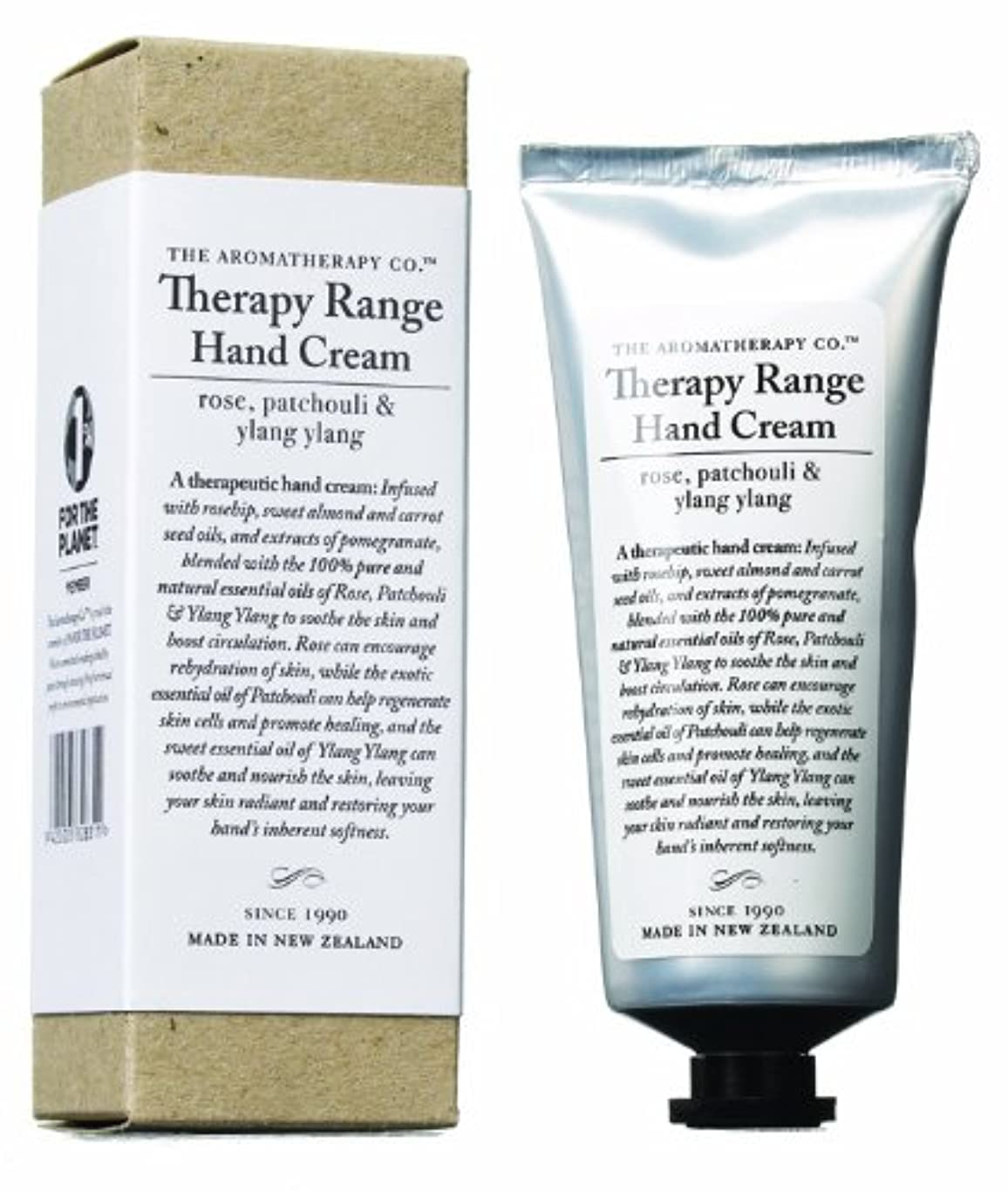 法律によりお気に入りレスリングアロマセラピーカンパニー Therapy Range セラピーレンジ ナリシングハンドクリーム ローズ 、パチュリ&イランイラン