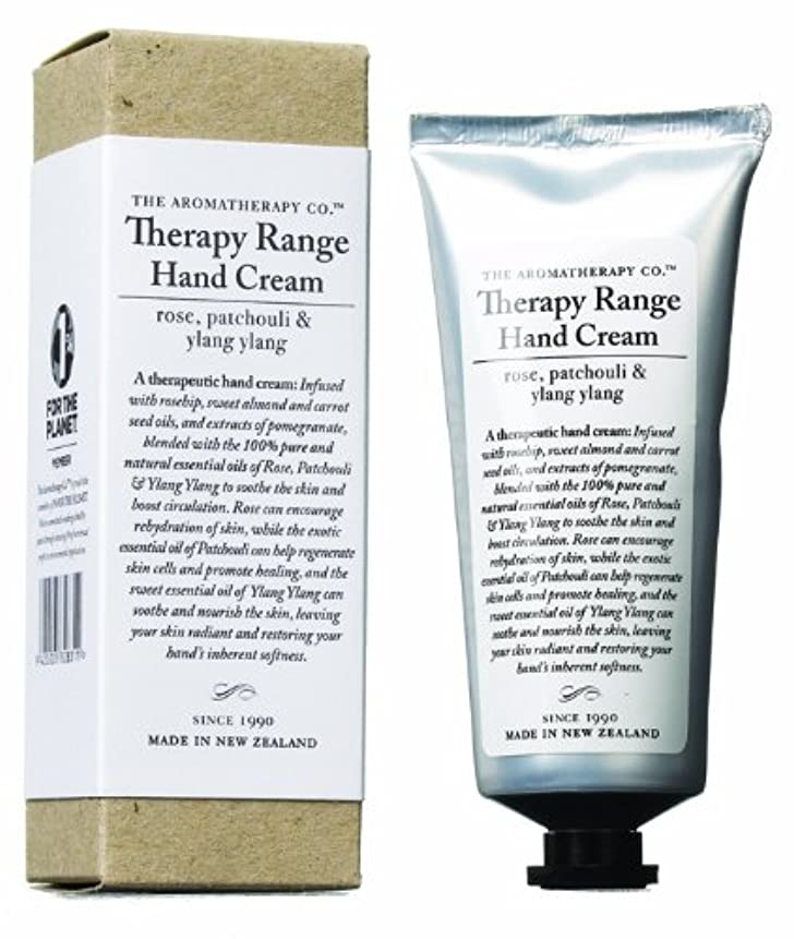 つまらない低いゆりアロマセラピーカンパニー Therapy Range セラピーレンジ ナリシングハンドクリーム ローズ 、パチュリ&イランイラン