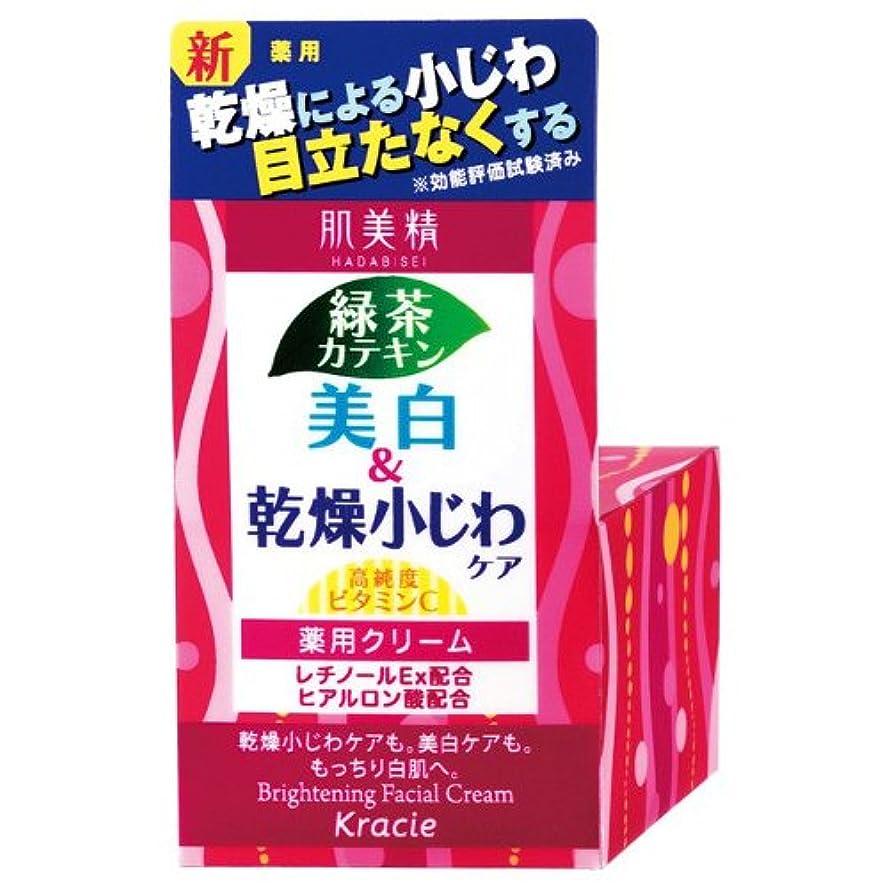 共感する死立派な肌美精 薬用美白&乾燥小じわケア クリーム 50g [医薬部外品]