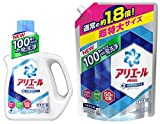 【まとめ買い】 アリエール 洗濯洗剤 液体 イオンパワージェル サイエンスプラス 本体 1.0kg + 詰替用 超特大サイズ 1.35kg